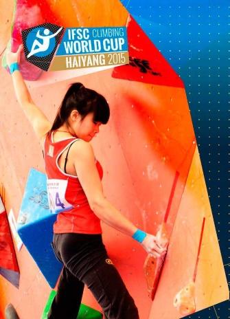 Boulder Weltcup Haiyang 2015 Ergebnisse