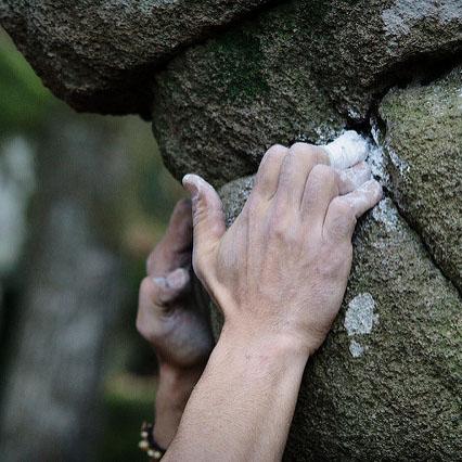 Bouldern Granit