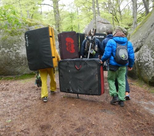 Fontainebleau Crashpads Gruppe