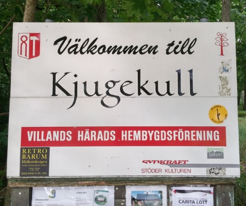 Kjugekull Schild