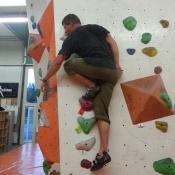Klettern ohne Hände