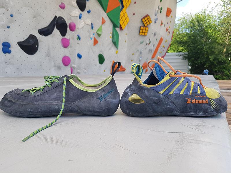 Decathlon Klettergurt Test : Simond rock im test was taugt der kletterschuh für euro